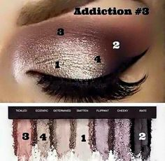 Love the Younique Eye shadow pallets there are three to chose from each are…