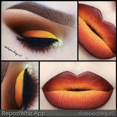 Hot Fire Makeup Looks to Try for Fun Makeup Inspo, Makeup Inspiration, Makeup Tips, Makeup Ideas, Makeup Trends, Makeup Tutorials, Color Inspiration, Maquillage Halloween, Halloween Makeup