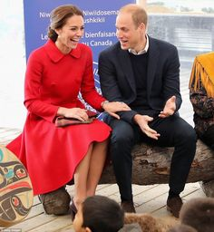 """Katie on Twitter: """"Kate is laughing because of a story read to them with the main character being 'William the Moose'"""
