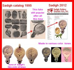 Sadigh Gallery still selling the same fakes from 18 years ago. Oil Lamps, Ancient Art, Be Still, Erotic, Gallery, Strong, Color, Old Art, Roof Rack