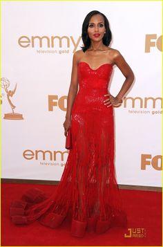 Kerry Washington - Emmys 2011 Red Carpet