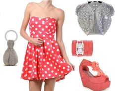 Auctions ending tonight on this Coral and White Polka Dot Mini Pinup Dress, Find Here: http://stores.ebay.com/The-Stylish-Boutique/_i.html?rt=nc&_nkw=polka+dot+pinup&_sid=544253133&_sticky=1&_trksid=p4634.c0.m14&_sop=1&_sc=1