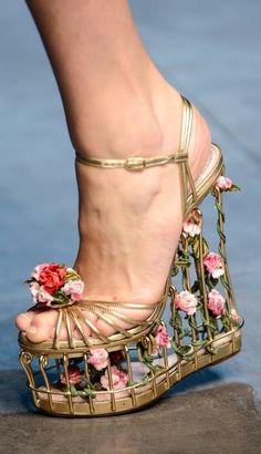Dolce & Gabbana on the runway - FW 2013 | Rococo Grunge Pastel Punk