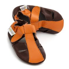 Baby Sandals, Baby Shoes, Barefoot, Leather Sandals, Mars, Soft Leather, Ankle Strap, Fashion, Moda