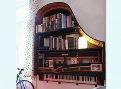 Awesome and Creative Ideas How To Repurpose Old Pianos | Just Imagine - Daily Dose of Creativity