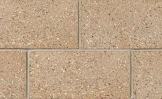 Profile Series Block in Peel Gold Suave by Brampton Brick. The compressive strength of Profile Series concrete block units is suitable for use in a masonry-bearing or single wall. This product is also manufactured with a water repellent additive and is permeable to water vapor. Smooth Face, Concrete Blocks, Brick, Profile, The Unit, Water, Gold, User Profile