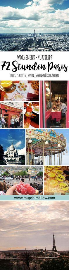 Ihr plant einen Kurztrip nach Paris? Ihr habt nur ein langes Wochenende Zeit oder seid auf der Durchreise? Ich zeige euch, wie ihr in nur 72 Stunden Paris kennen lernen könnt, die schönsten Sehenswürdigkeiten, Insider Tips, Shopping, Lieblingsplätze und das beste Käse Fondue der Stadt. Klickt hier für meine Paris Reise Tipps.