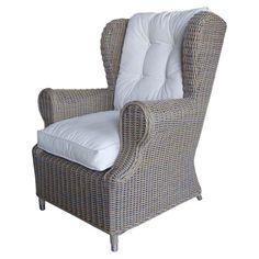 Paula Indoor/Outdoor Rattan Arm Chair at Joss & Main