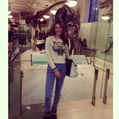 At American Museum of Natural History #museum #weekend #NYC #model