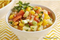 Mango Salsa | I Heart Nap Time - How to Crafts, Tutorials, DIY, Homemaker