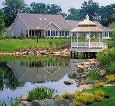 1000 Images About Pond Landscapes On Pinterest Pond