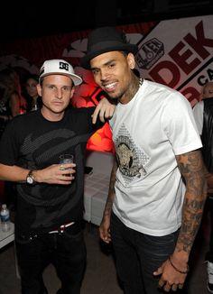 "25c830350 Chris Brown x DC Shoes x PacSun presents ""Golden State of Mind"" Rob Dyrdek"