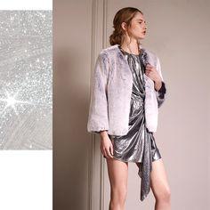 Ready for it | draped mini x fur jacket   Get the look > http://ss1.us/a/F0xjT3PG x http://ss1.us/a/rM15w1F6