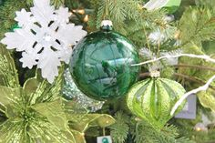 Christmas Decor - Shades Of Green