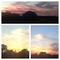 Weston Florida sunset