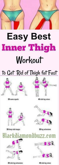 Inner thigh slimming workouts| Here are easy best inner thigh exercises to get rid of thigh fat and tone legs fast at home. #pregnancyat4weeks,