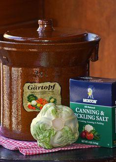 Preserve the Harvest Series: How to Make Sauerkraut