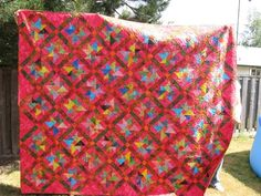 Bali Spinner quilt - donated for charity auction so will make another one for me