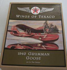 Wings of Texaco 1940 Grumman Goose Airplane Die by TheSewingBag $15.00