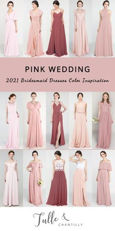 Mixing and matching affordable bridesmaid dresses online for 2021 pink wedding color ideas Affordable Bridesmaid Dresses, Bridesmaid Dresses Online, Bridesmaid Dress Colors, Wedding Dresses, Pink Wedding Colors, Brides And Bridesmaids, Wedding Inspiration, Wedding Ideas, Wedding Photos