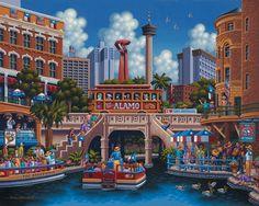 San Antonio Puzzle by Eric Dowdle