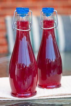 Infused Strawberry + Blueberry + Vanilla Bean Vodka