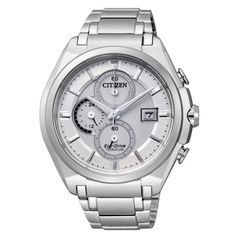 Citizen Chronograph Nr. CA0350-51A. Machen Sie ein unvergessliches Geschenk und schenken Sie diese Uhr mit einer persönlichen Gravur.