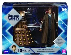 #DoctorWho The Doctor And #Dalek Action Figure 2-Pack - Tenth Doctor - Midtown Comics