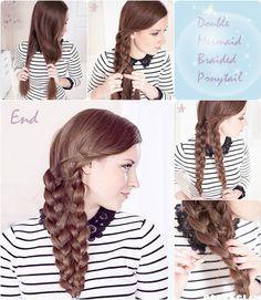 how to do a mermaid braid - Google Search