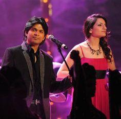 #AnkitTiwari and #AkritiKakkar performing at #RadioMirchiMusicawards2015