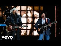 Alan Jackson and George Strait – 'Remember When' and 'Troubadour' 2016 CMA Awards | Today's Country Music Videos
