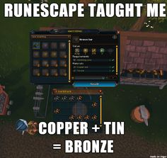 Runescape was one of my early introductions to online gaming. I like the setting and the missions involved in the game.