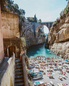 Fiordo di Furore, Amalfi Coast #TravelinItaly