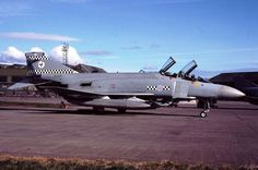 RAF FGR2 43 sqn CO's aircraft XV571  Leuchars 1988