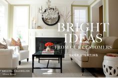 Bright ideas from our customers. Shop lighting
