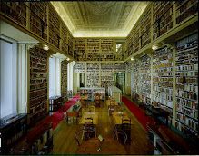 Ajuda National Palace Library, Lisbon, Portugal.