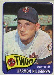 1960s - Harmon Killebrew - Minnesota Twins.