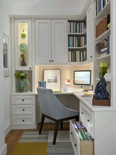 perfect small office add sky light for plenty of natural light