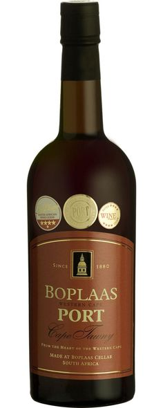 Boplaas Cape Tawny Vintners Port scores 88 and 5 stars in value. #wine #SouthAfrica