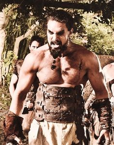 Khal Drogo Jason Momoa in the Game of Thornes ¸.•`♥¸.•`♥