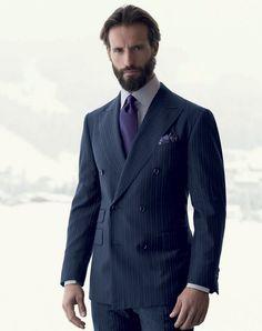 Pal Zileri. Bespoke. Men's Suit Check out more at FashionFilmsNYC.com