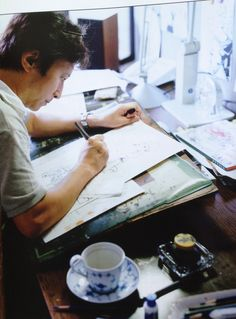 荒木 飛呂彦(araki hirohiko) 漫画家(Cartoonist) The author of JOJO