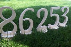 Table Number Wedding  1 to 10  wooden numbers by SunFla on Etsy