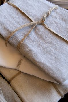 Belgian 100% linen napkins