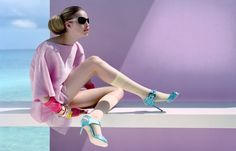 "<p>""Flash neon lights and body-con sportswear beneath springs gossomar delicacies : sheer brilliance. ""</p>"
