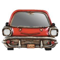 Smiling Car Mirror Wall Décor