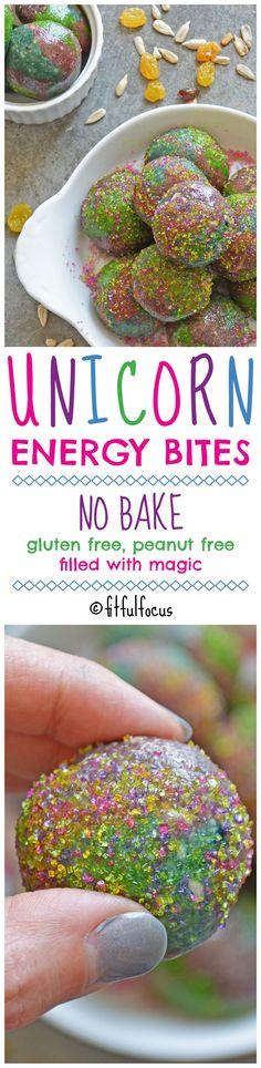 Unicorn Energy Bites   No-Bake Desserts   Healthy Snacks   Meatless Monday   Unicorn Recipes   Rainbow Desserts   Healthy Snacks for Kids   Energy Balls   Beautiful Cases For Girls