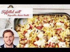 Széll Tamás receptje – Tejföllel sült káposztás-húsos tészta - YouTube