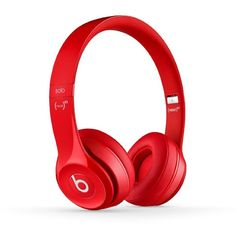 Beats Solo2 Wired On-Ear Headphones Pink ($148) ❤ liked on Polyvore featuring accessories, electronics, headphones e tech