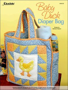 ~ Baby Duck Diaper Bag